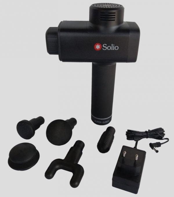 Solio Gun Massager pieces
