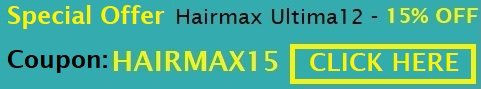 Limited time offer - 15%OFF on Hairmax Ultima 12 device