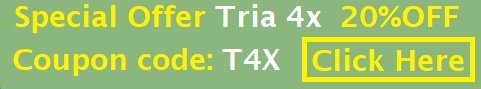 Tria Beauty 4x Laser Sale - 20% off WITH coupon T4X
