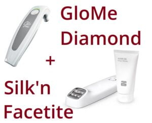 Silk'n Facetite and GloMe Diamond bundle deal
